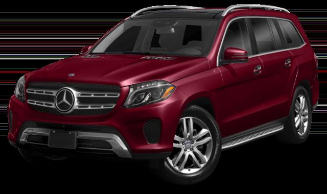 2019 mercedes-benz gls red exterior