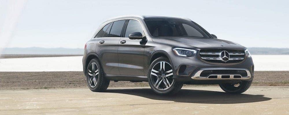 Gray 2020 Mercedes-Benz GLC