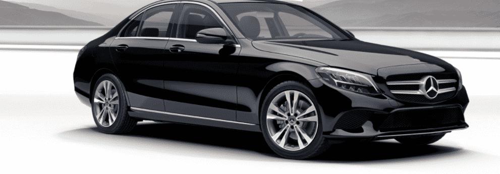 Black 2021 Mercedes-Benz C-Class