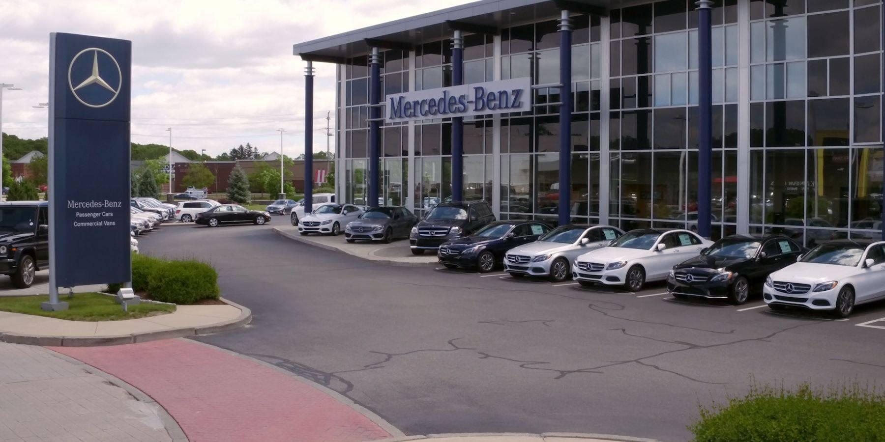 Mercedes benz dealer serving providence cranston for Mercedes benz dealers in michigan