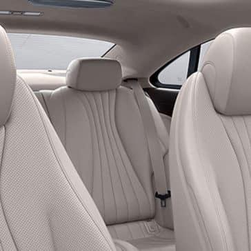 2018 Mercedes-Benz E-Class Coupe seats