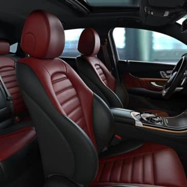 2019 Mercedes-Benz GLC Coupe front interior