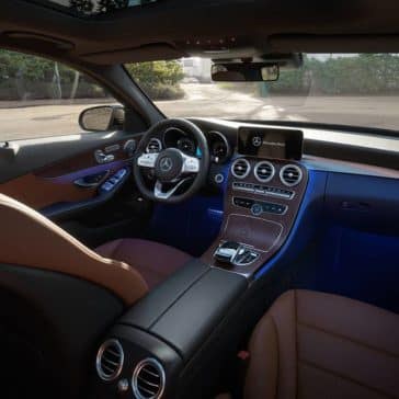 2019 Mercedes-Benz C-Class Sedan front interior