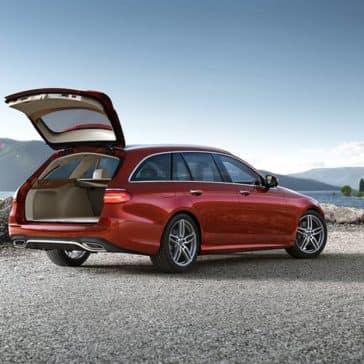 2019 Mercedes-Benz E-Class back open