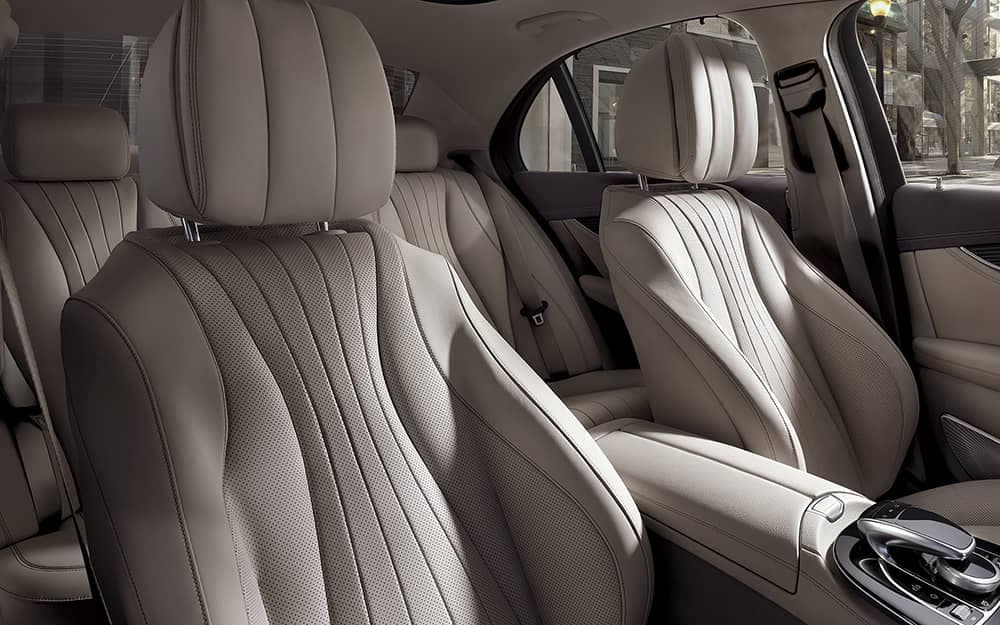 2019 Mercedes-Benz E-Class front seating