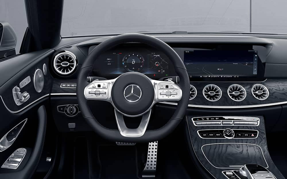2019 Mercedes-Benz E-Class steering wheel