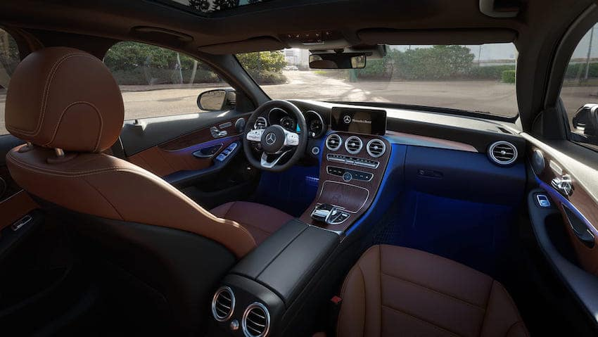 Mercedes-Benz C-Class dashboard