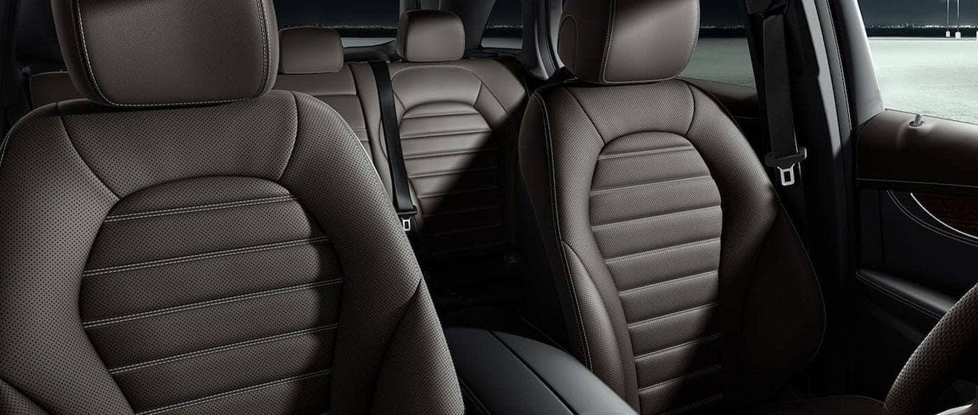 GLC SUV leather front seats