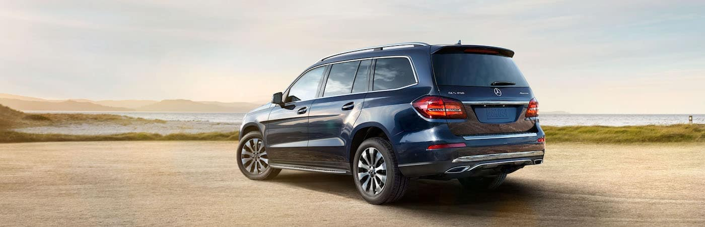 Blue Mercedes-Benz GLS