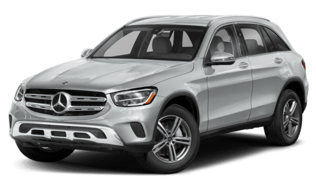 Silver-White Mercedes-Benz GLC