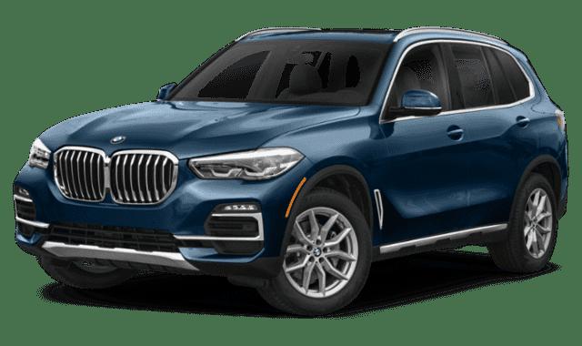 Blue 2020 BMW X5