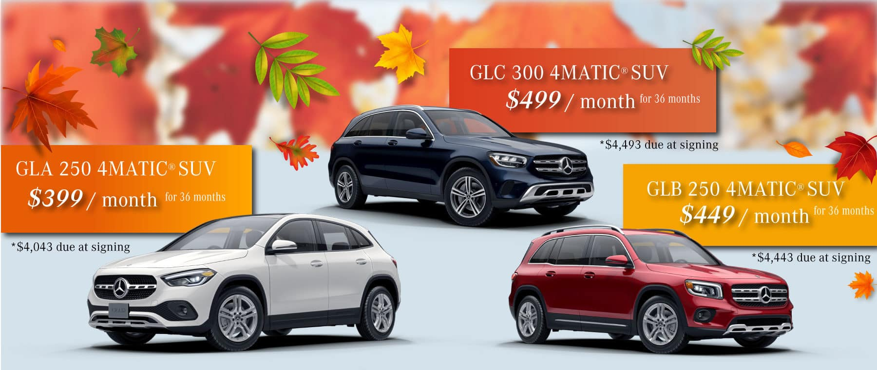 mercedes-benz of west chester new merecedes lease specials