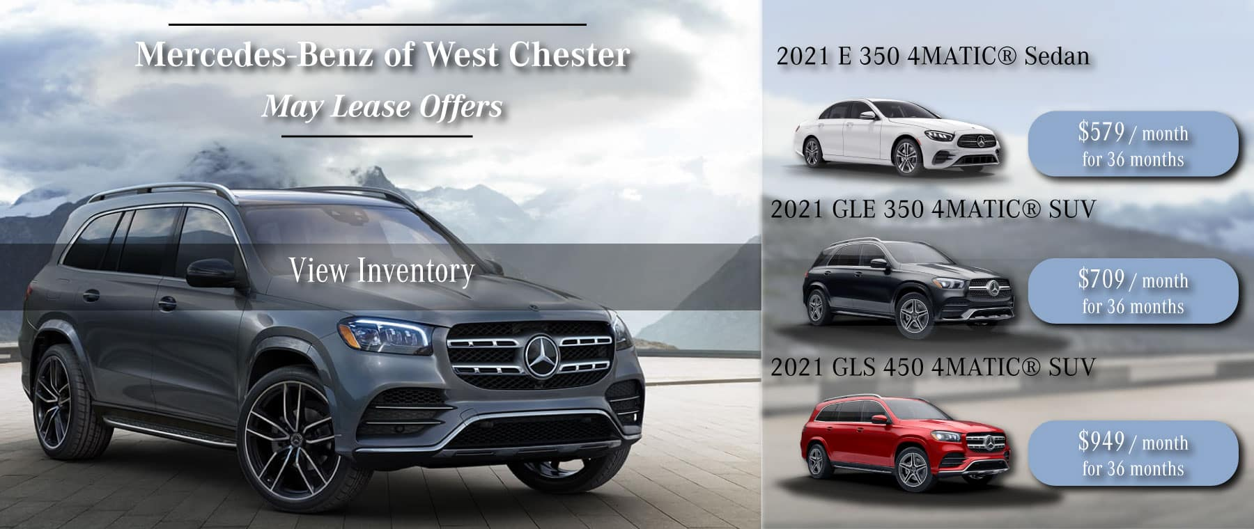 Mercedes-Benz of West Chester Lease Specials