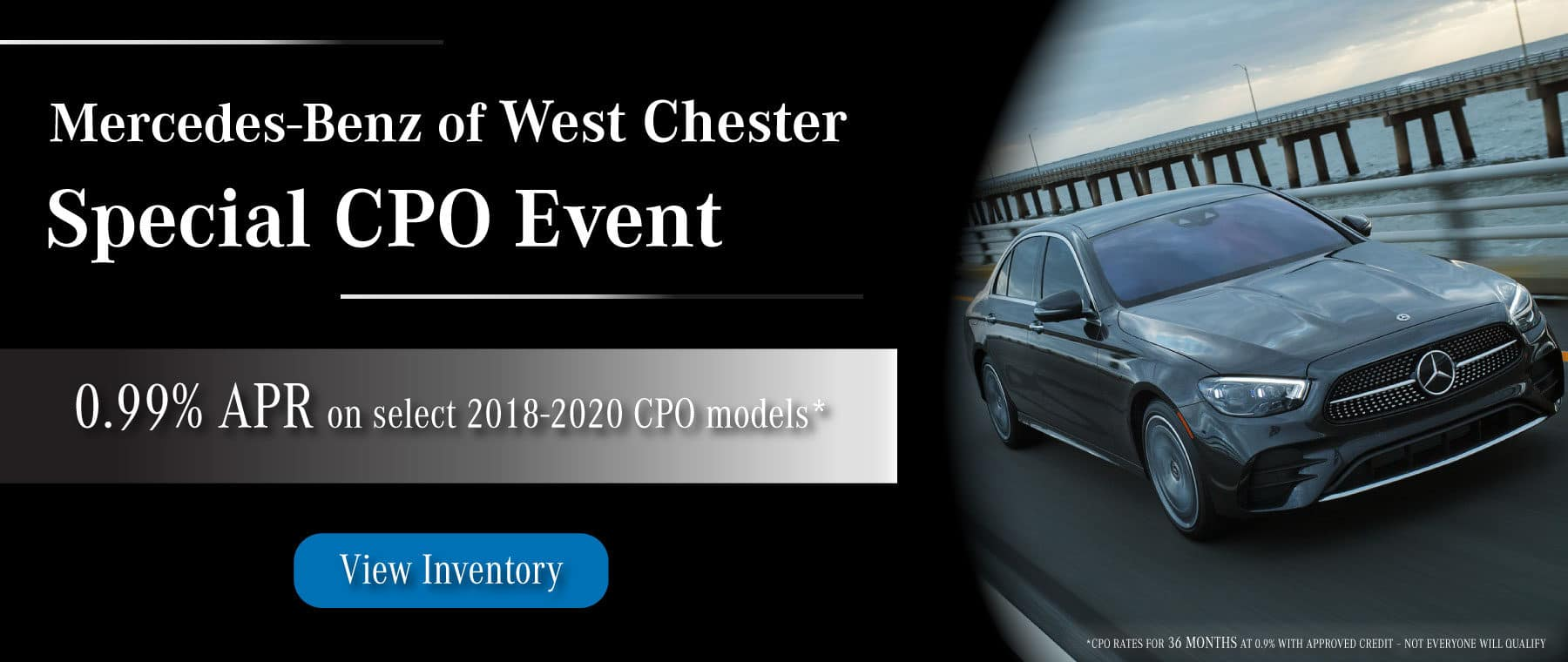 Mercedes-Benz of West Chester mercedes certified pre owned special event