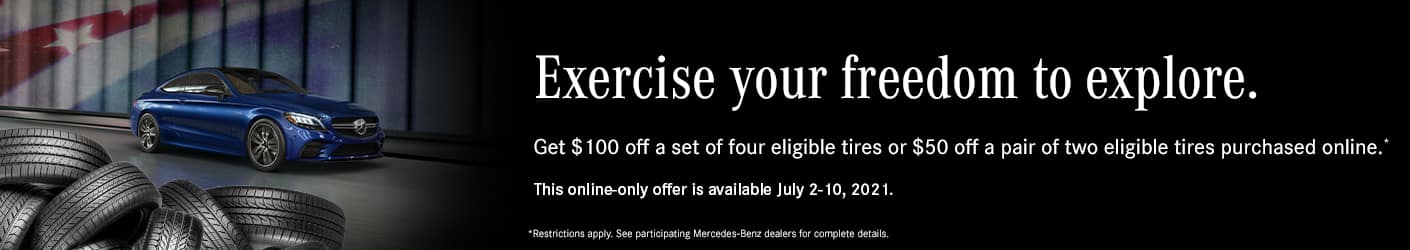 Mercedes-Benz of West Chester Tire Special