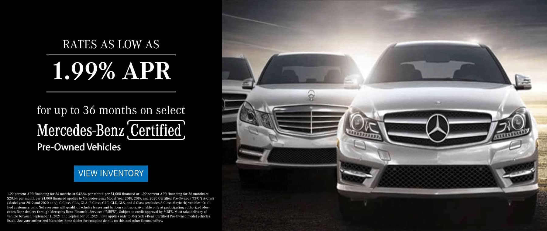 mercedes-benz of west chester certified pre owned special