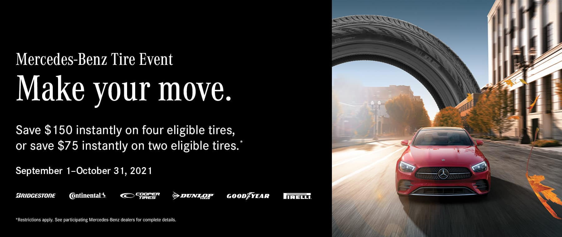Mercedes-Benz of West Chester Mercedes tire specials