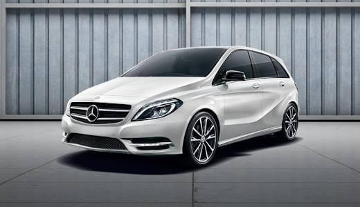 Featured Vehicles: <br> Certified B-Class