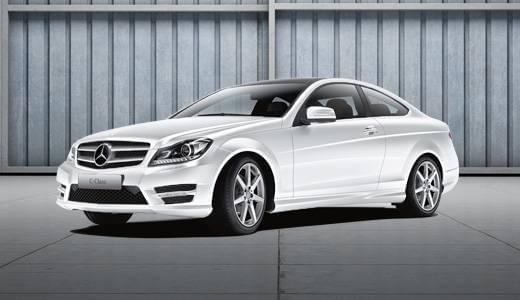 Featured Vehicles:<br> Certified C-Class Coupe