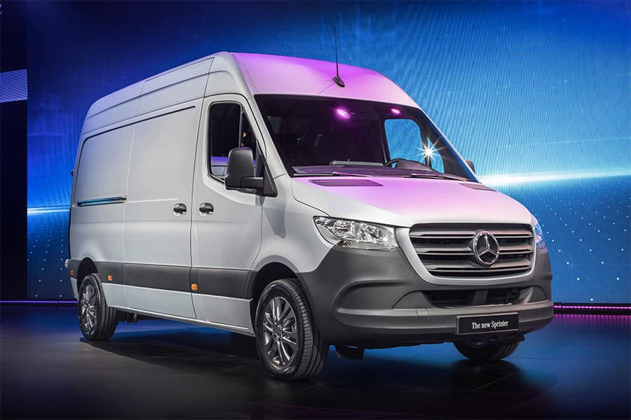 cac067c5566897 Mercedes-Benz presents the third generation of the Sprinter ...