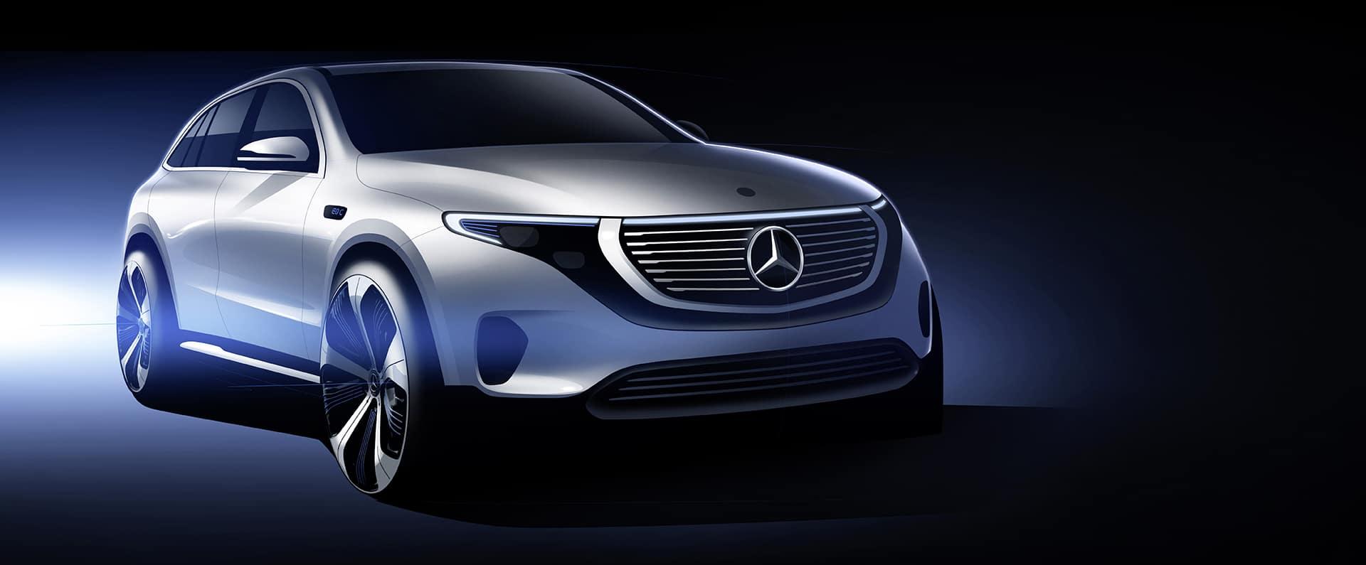 The New Mercedes Benz EQC