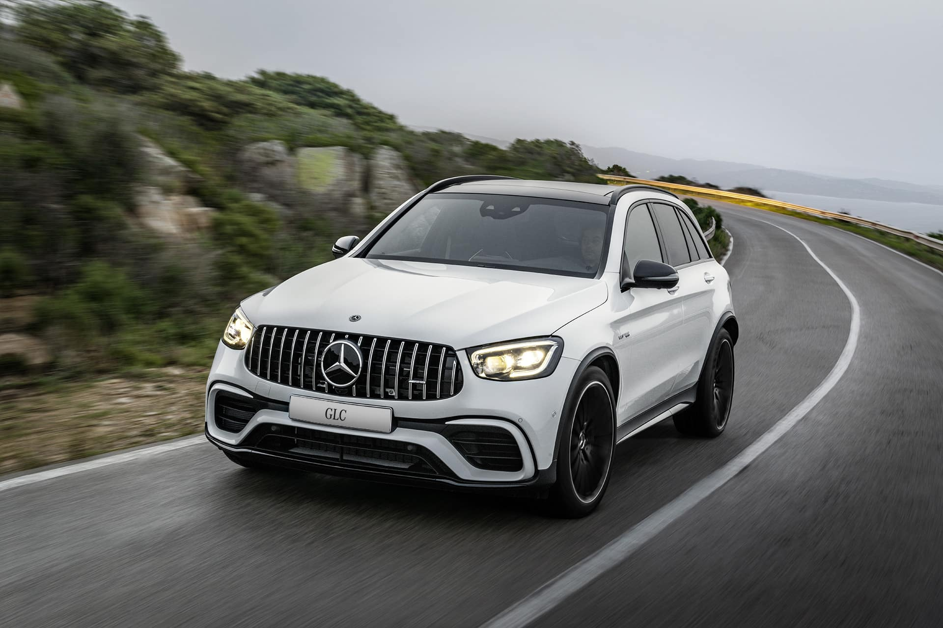 New Mercedes Suv >> The New Mercedes Amg Glc 63 S 4matic Suv And Coupe