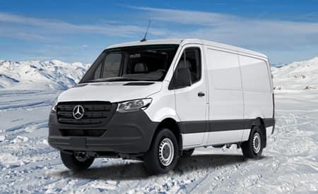 "2019 Sprinter 4x4 Cargo Van 2500 High Roof 144"" WB"