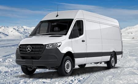 2019 Sprinter 4x4 Cargo Van 2500 High Roof 170