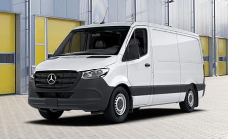 "2020 Sprinter 144"" WB Cargo Vans"