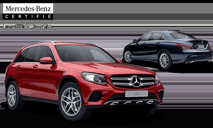 d'occasion Mercedes-Benz certifiés