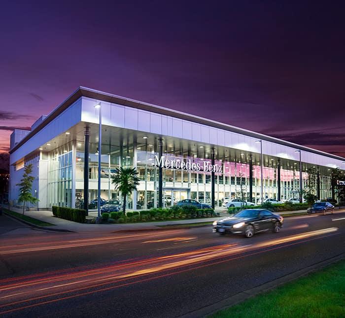 Mercedes-Benz Dealership In