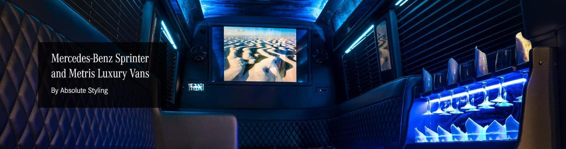 Vans - Luxury Metris and Sprinter Vans | Mercedes-Benz Vancouver