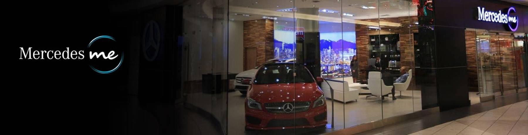 Mercedes benz me store at aberdeen centre mercedes benz for Mercedes benz vancouver