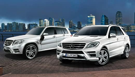 Certified Pre-Owned GLK and ML