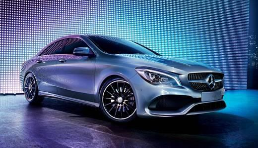 2018 CLA 4-door Coupe