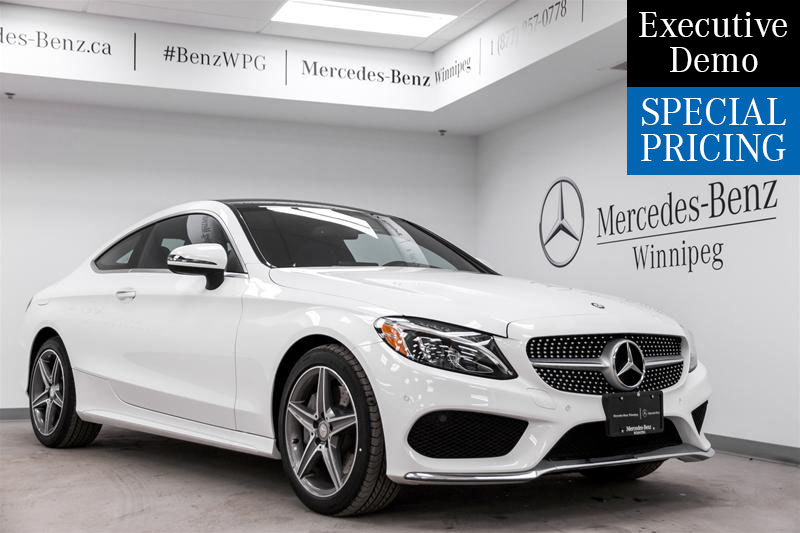 2017 C-Class Coupe 4MATIC