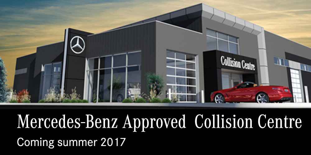 Mercedes benz winnipeg new and pre owned luxury dealer for Mercedes benz collision center