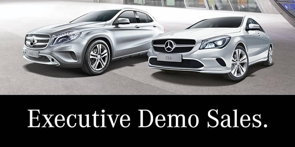 executive demo sales mobile banner
