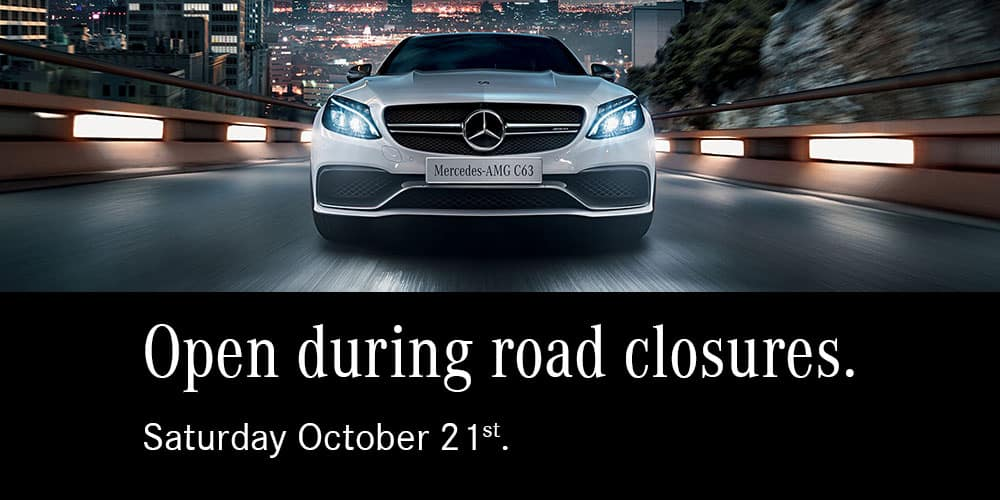 Open During Road Closures - mobile