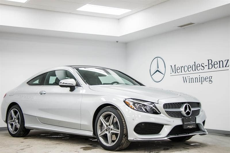 2017 C300 Coupe 4MATIC