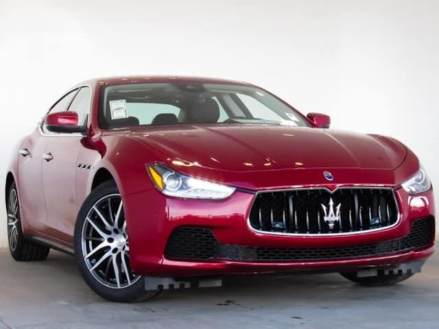 2017 Maserati Ghibli S Q4 AWD Lease Special
