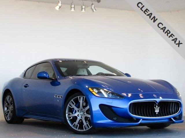PreOwned 2013 Maserati GranTurismo Sport for sale at Mike Ward Maserati of Denver