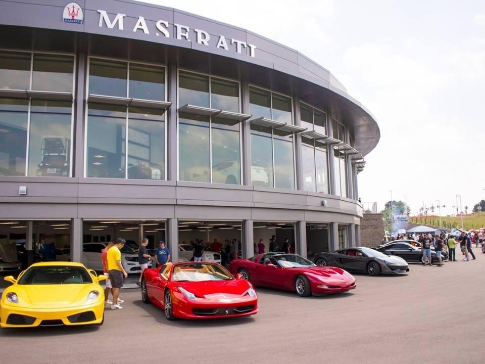Mike Ward Maserati SuperCar Saturday June 2017