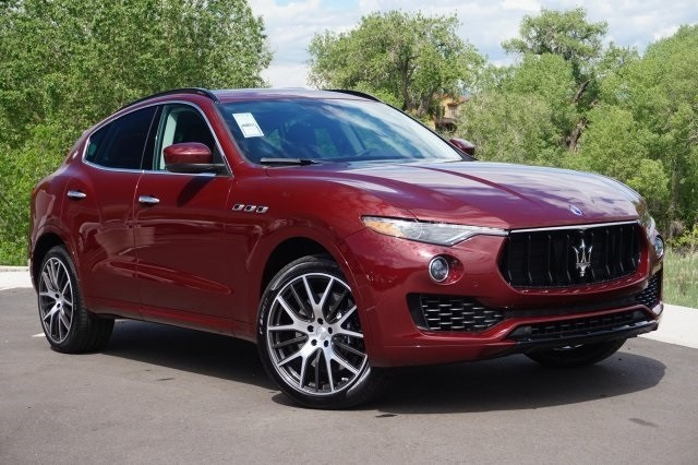 2017 maserati levante suv lease special near denver, colorado
