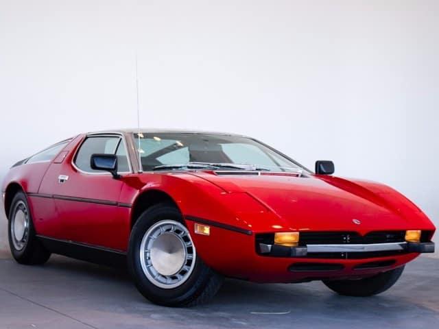 1973 Maserati Bora For Sale at Mike Ward Maserati