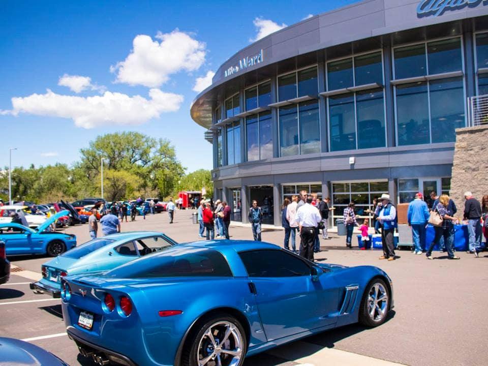 Supercar Saturday at Mike Ward Maserati near Denver