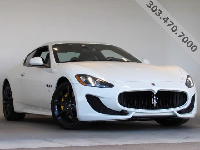 2017 Maserati GranTurismo Sport Lease Offer