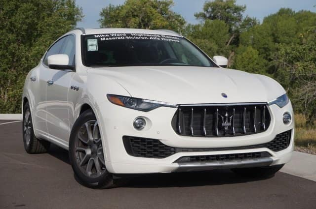 November Lease Deal 2017 Maserati Levante near Denver