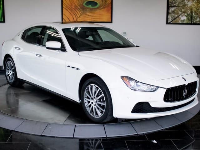 gently used 2014 maserati ghibli luxury awd sedan for sale near denver