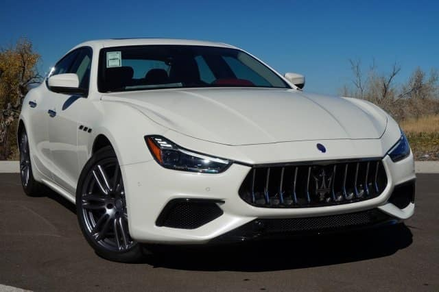 Innovative Driver Assistance Features 2018 Maserati Ghibli